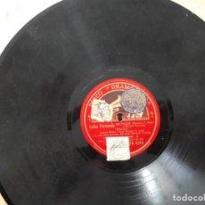 Discos de pizarra: DISCO PIZARRA GRAMÓFONO LUISA FERNANDA. Lote 140993702