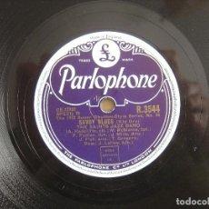 Discos de pizarra: THE SAINTS JAZZ BAND - WHEN THE SAINTS / SAVOY BLUES - 10 PULGADAS PIZARRA 78RPM UK - PARLOPHONE. Lote 141327350