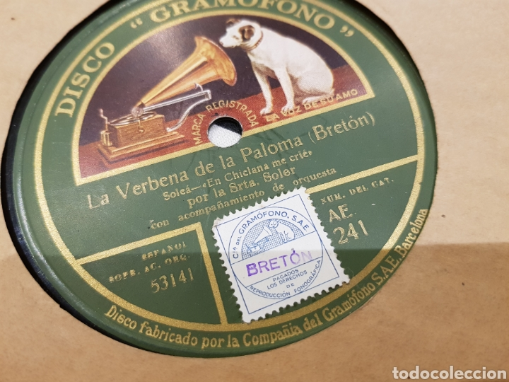 DISCOS 78 RPM FLAMENCO (Música - Discos - Pizarra - Flamenco, Canción española y Cuplé)
