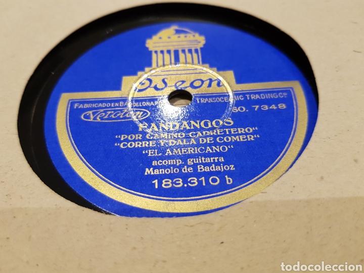 DISCOS 78 RPM FLAMENCO EL AMERICANO (Música - Discos - Pizarra - Flamenco, Canción española y Cuplé)