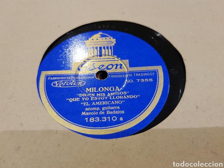 Discos de pizarra: DISCOS 78 RPM FLAMENCO EL AMERICANO - Foto 2 - 142329541