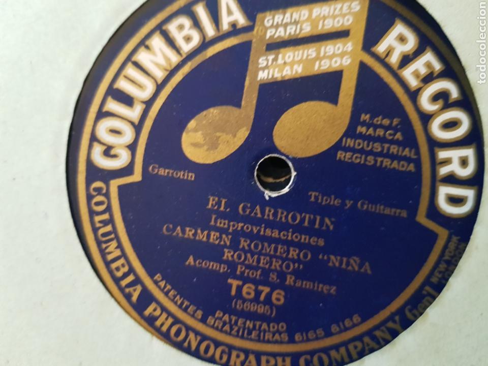 DISCOS 78 RPM FLAMENCO NIÑA ROMERO (Música - Discos - Pizarra - Flamenco, Canción española y Cuplé)