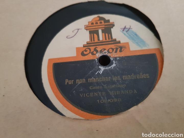 Discos de pizarra: DISCOS 78 RPM Regional Asturiano - Foto 2 - 143288640