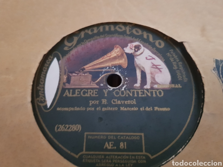 Discos de pizarra: DISCOS 78 RPM REGIONAL ASTURIANO - Foto 2 - 143288814
