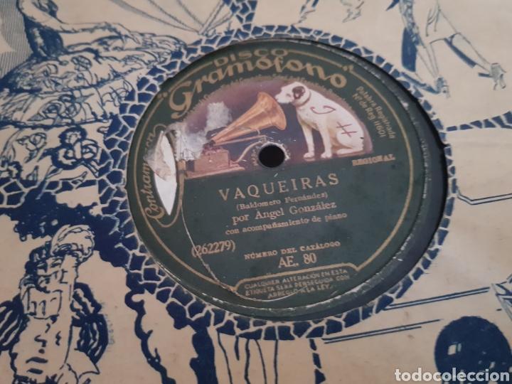 DISCOS 78 RPM REGIONAL ASTURIANO. (Música - Discos - Pizarra - Flamenco, Canción española y Cuplé)