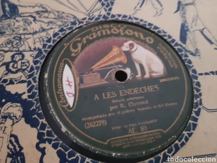 Discos de pizarra: Discos 78 rpm REGIONAL ASTURIANO. - Foto 2 - 143289013