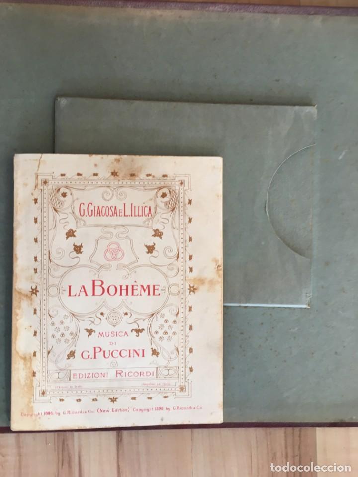 Discos de pizarra: EXCEPCIONAL OPERA COMPLETA LA BOHÈME DE GIACOMO PUCCINI, 13 DISCOS DE PIZARRA LA VOZ DE SU AMO - Foto 10 - 143294078
