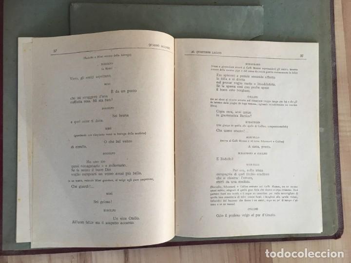 Discos de pizarra: EXCEPCIONAL OPERA COMPLETA LA BOHÈME DE GIACOMO PUCCINI, 13 DISCOS DE PIZARRA LA VOZ DE SU AMO - Foto 11 - 143294078