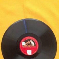 Discos de pizarra: DISCO PIZARRA. EMIGRANTES GRANADINAS // PRINCESITA. TITO SCHIPA. Lote 143393658