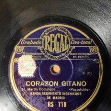 Discos de pizarra: DISCO PIZARRA. PASODOBLE. Lote 143562864