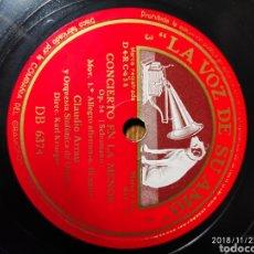 Discos de pizarra: DISCO PIZARRA. CLAUDIO ARRAU. Lote 143564804