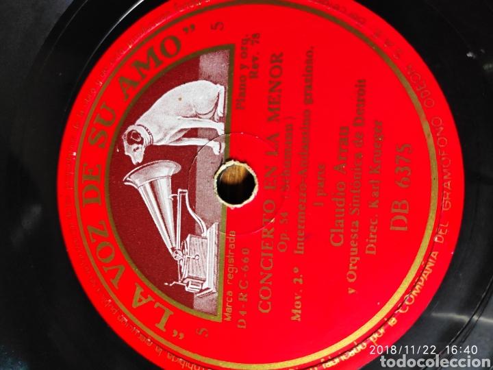 DISCO PIZARRA. CLAUDIO ARRAU. (Música - Discos - Pizarra - Clásica, Ópera, Zarzuela y Marchas)
