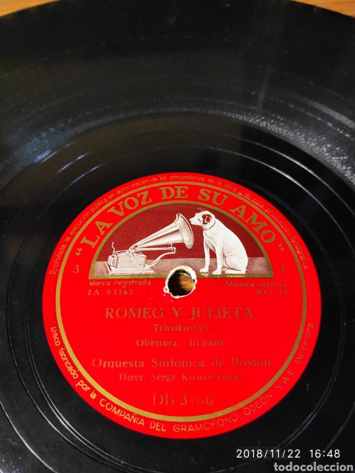 Discos de pizarra: Disco pizarra. Romeo y Julieta - Foto 2 - 143565346