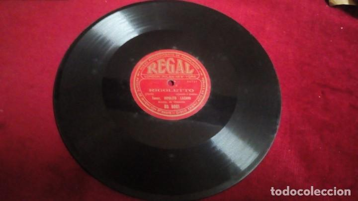 Discos de pizarra: Disco de pizarra Regal - Rigoletto - Foto 2 - 143962082