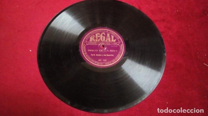 Discos de pizarra: Disco de pizarra Regal - Carolina, carolina/Disco de la risa - Foto 2 - 143968886
