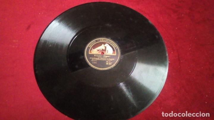 Discos de pizarra: Disco de pizarra: Gramófono - El crepúsculo de los dioses/Rienzi (Wagner) - Foto 2 - 144006734