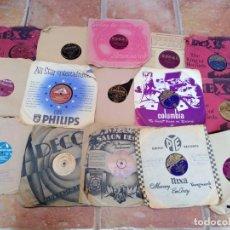Discos de pizarra: LOTE 15 DISCOS DE PIZARRA. Lote 145056686