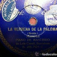 Discos de pizarra: 10 DISCOS DE PIZARRA VARIADOS. Lote 145060086