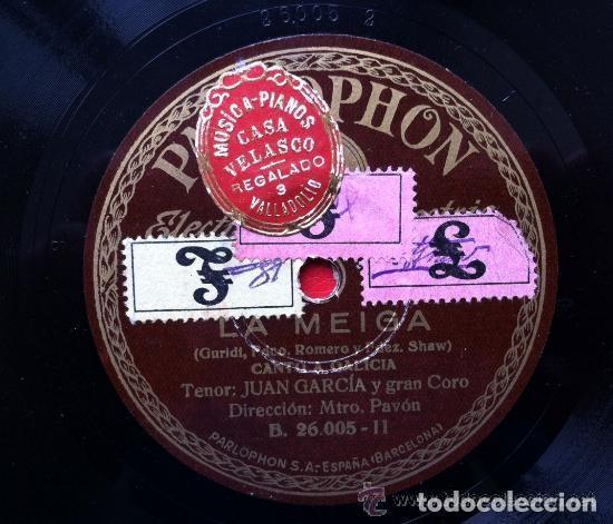 7 DISCOS DE PIZARRA VARIADOS (Música - Discos - Pizarra - Otros estilos)