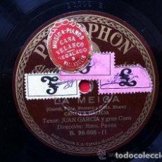Discos de pizarra: 7 DISCOS DE PIZARRA VARIADOS. Lote 145098394