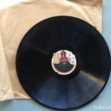 Discos de pizarra: DISCO DE PIZARRA ODEON, LA GAVIOTA, ESCUCHA MI CANCION Y DESPEDIDA, 2 CARAS. Lote 145507954