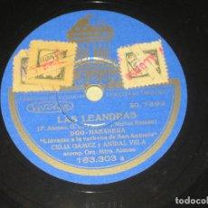 Discos de pizarra: CELIA GAMEZ - LAS LEANDRAS . Lote 146166058