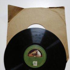 Discos de pizarra: DISCO DE PIZARRA GRAMÓFONO. COSES DE BARCELONA/L' AMIC DEL REI. Lote 146205826