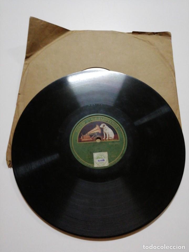 Discos de pizarra: Disco de pizarra Gramófono. Coses de Barcelona/L amic del rei - Foto 2 - 146205826