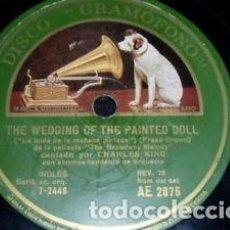 Discos de pizarra: DISCO 78 RPM - GRAMOFONO - CHARLES KING - BROADWAY MELODY - JAZZ - PIZARRA. Lote 146217678
