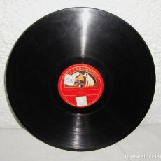Discos de pizarra: DISCO DE PIZARRA, PARA GRAMÓFONO. MIGUEL FLETA. MI VIEJA - LA TRIUNFADORA.. Lote 146374942