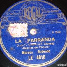 Discos de pizarra: DISCO DE PIZARRA. Lote 146456582