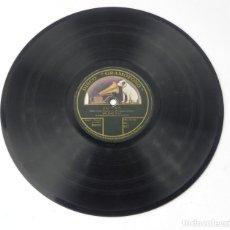 Discos de pizarra: DISCO PIZARRA DE JOTAS, POR JACINTA BARTOLOMÉ Y JUSTO ROYO, DISCO GRAMOFONO, EN LA CARA DE JACINTA . Lote 146485006