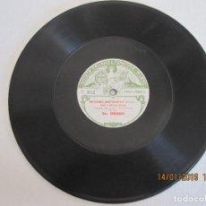 Discos de pizarra: ANTIGUO DISCO DE PIZARRA GRAMOLA MADAMA BUTTERFLY SOCIEDAD ITALIANA DE FONOTIPIA MILAN. Lote 146986058
