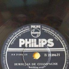 Discos de pizarra: DISCO 78 RPM - PHILIPS - PERCY FAITH - ORQUESTA - BURBUJAS DE CHAMPAGNE - PIZARRA. Lote 147132026