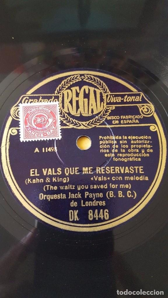 DISCO 78 RPM - REGAL - ORQUESTA CALIFORNIA RAMBLERS - EL MANISERO - ORQUESTA JACK PAYNE - PIZARRA (Música - Discos - Pizarra - Jazz, Blues, R&B, Soul y Gospel)