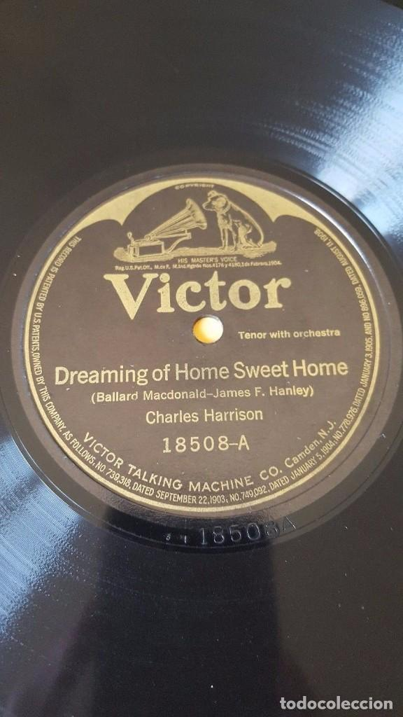 DISCO 78 RPM - VICTOR - CHARLES HARRISON - TENOR - HART & SHAW DUO - ORQUESTA - PIZARRA (Música - Discos - Pizarra - Jazz, Blues, R&B, Soul y Gospel)