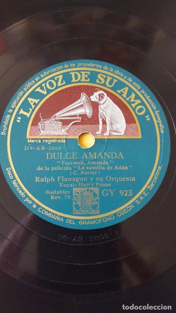 Discos de pizarra: DISCO 78 RPM - VSA - RALPH FLANAGAN - ORQUESTA - HARRY PRIME - BLANCA NAVIDAD - I. BERLIN - PIZARRA - Foto 2 - 147281842