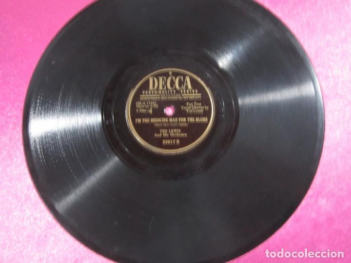 THE OLD ST LOUIS BLUES FOX TROT DISCO PIZARRA DECCA (Música - Discos - Pizarra - Otros estilos)