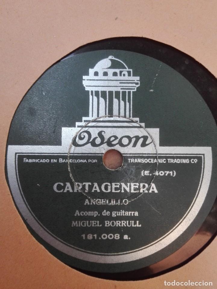 ANGELILLO-CARTAGENERA.MUY BUEN ESTADO (Música - Discos - Pizarra - Flamenco, Canción española y Cuplé)