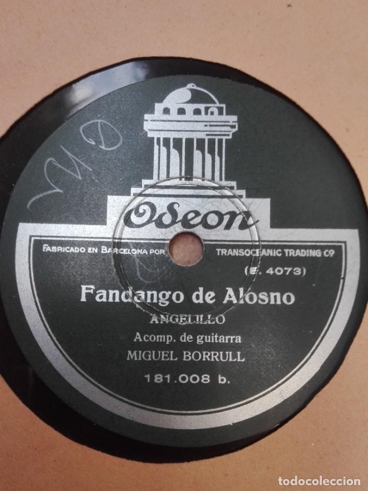 Discos de pizarra: ANGELILLO-CARTAGENERA.MUY BUEN ESTADO - Foto 2 - 147485826