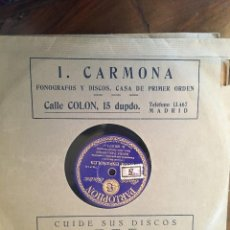 Discos de pizarra: DISCOS PIZARRA 78 RPM VARIOS TEMAS Y CANTANTES, FUNDAS ORIGINALES, (VER FOTOS). Lote 147518422