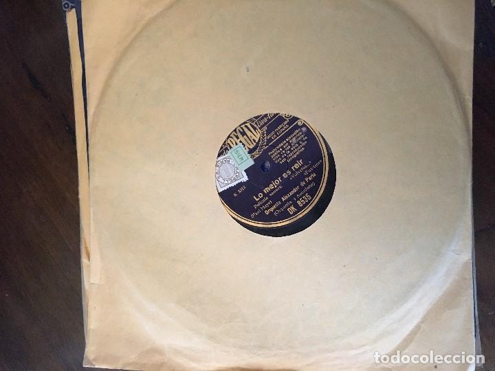 DISCO PIZARRA 78 RPM PELICULA SONORA VOLVERAS... PAUL MAYE Y VALS ADRIANA (VER CANCIONES) (Música - Discos - Pizarra - Bandas Sonoras y Actores )