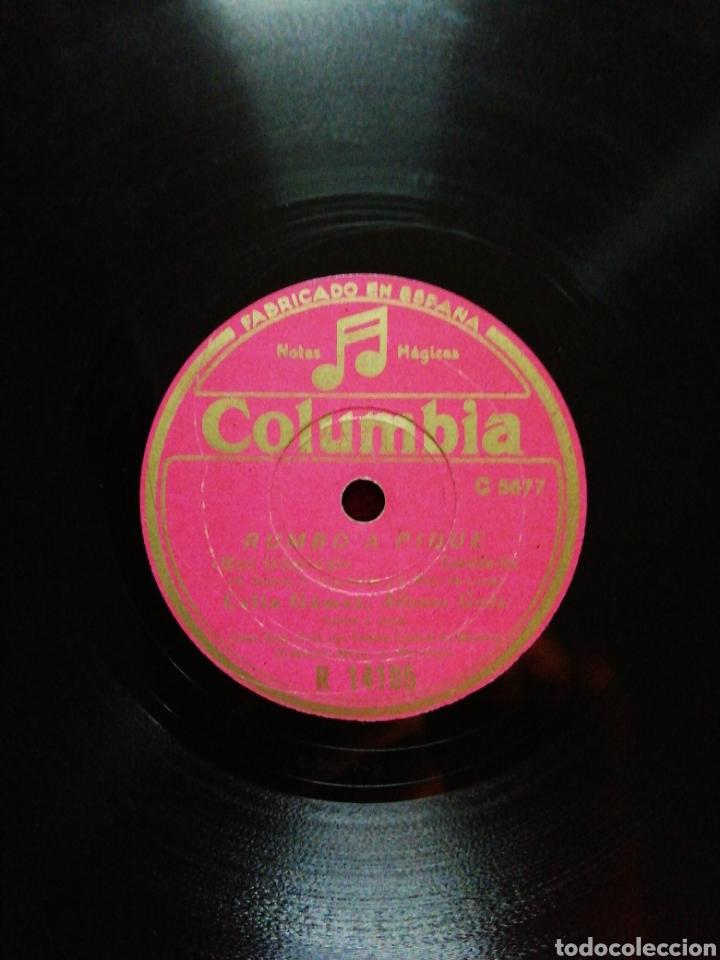 Discos de pizarra: Disco de pizarra Celia Gamez. Sol tropical/Un beso... - Foto 3 - 147861385