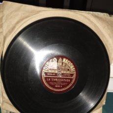 Discos de pizarra: GARDEL LA ENMASCARADA/CONGOJAS. Lote 147933140