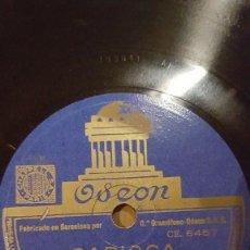 Shellac Records - DISCO 78 RPM - ODEON - HARRY ROY - ORQUESTA - FILM - VOLANDO HACIA RIO - CARIOCA - PIZARRA - 148057286