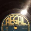 Discos de pizarra: DISCO 78 RPM - REGAL - PETER YORKE - ORQUESTA - FILM - NOCHE Y DIA - PORTER - PIZARRA. Lote 148061450