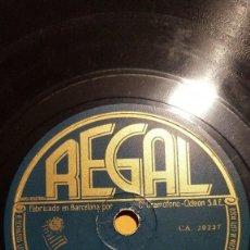 Shellac Records - DISCO 78 RPM - REGAL - PETER YORKE - ORQUESTA - FILM - NOCHE Y DIA - PORTER - PIZARRA - 148061450
