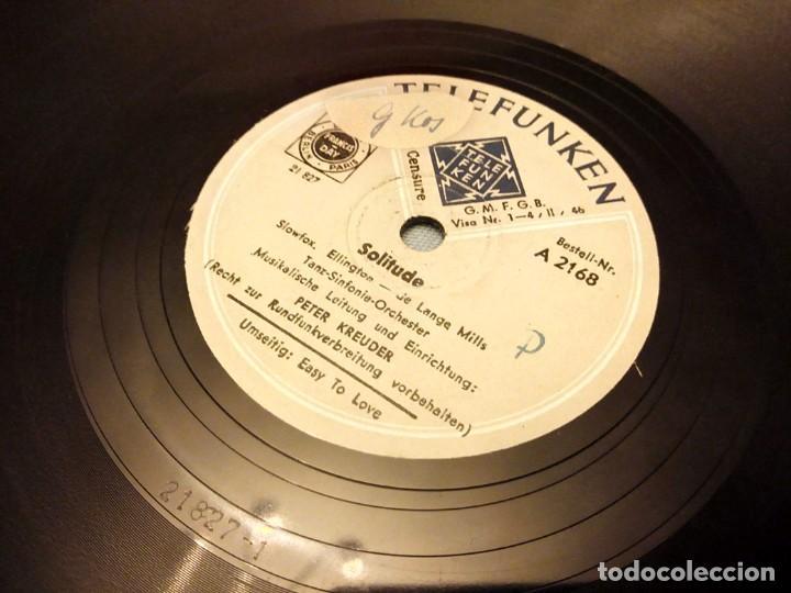 Discos de pizarra: Tanz-Sinfonie-Orchester ?– Solitude / Easy To Love - Foto 4 - 148099338