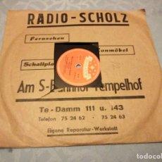 Discos de pizarra: FRIEDEL HENSCH UND DIE CYPRYS ?– WAS IST DENN NUN KAPUTT! / DAS IST JA PRIMA!,1954. Lote 148100206