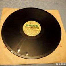 Discos de pizarra: ISABELLA (ANDALUSISCHES MÄRCHEN) / DIE SÜSSESTEN FRÜCHTE FRESSEN NUR DIE GROSSEN TIERE.1952. Lote 148100978